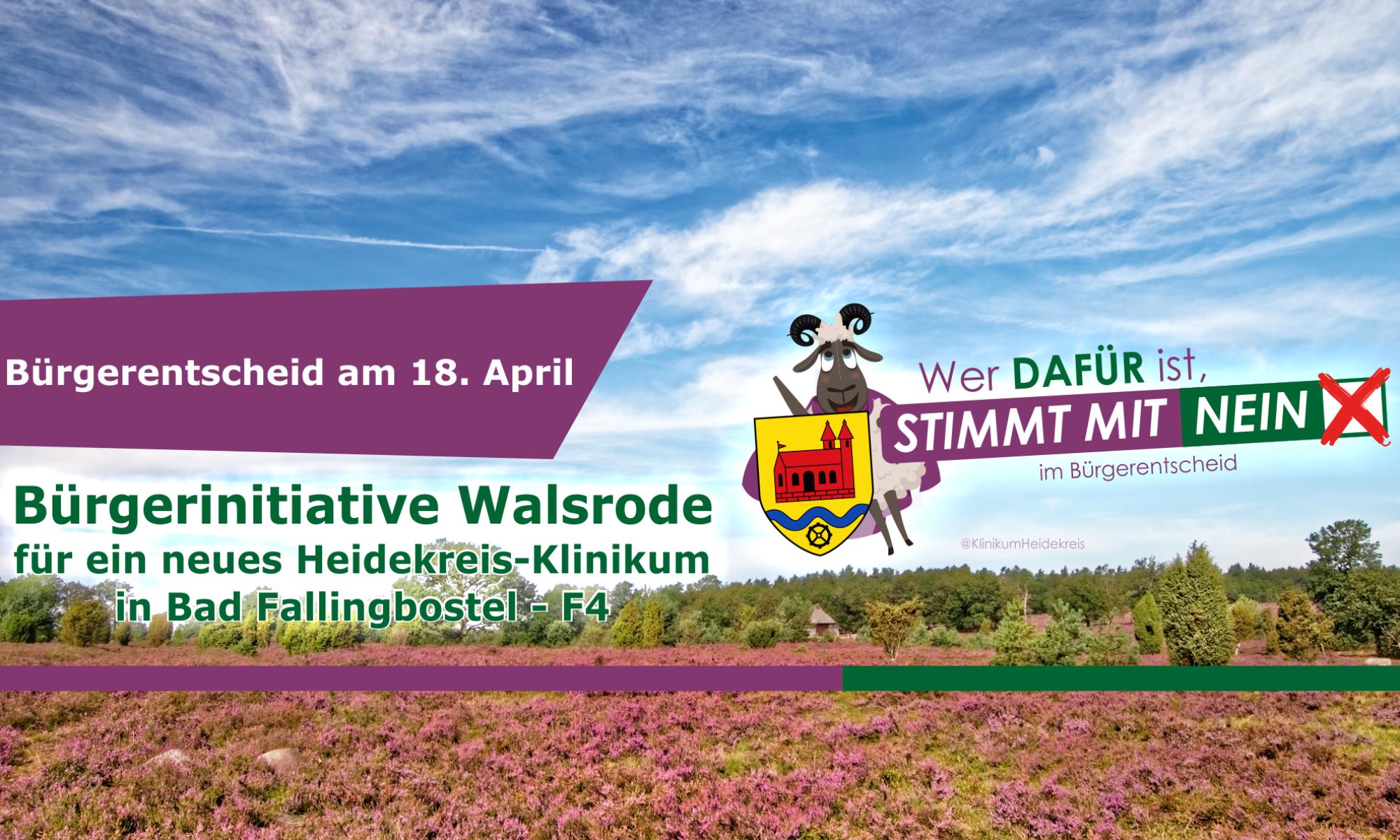 Bürgerinitiative Walsrode für ein Neues Heidekreis-Klinikum